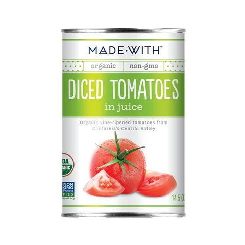 Made With Diced Tomatoes In Juice, 14.5 Oz (Pack of 12)