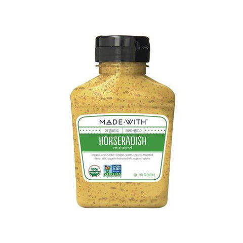 Made With Horseradish Mustard, 9 Oz (Pack of 6)