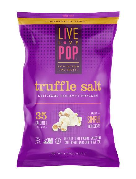 Live Pop Truffle Salt Popcorn, 4.4 Oz (Pack of 12)