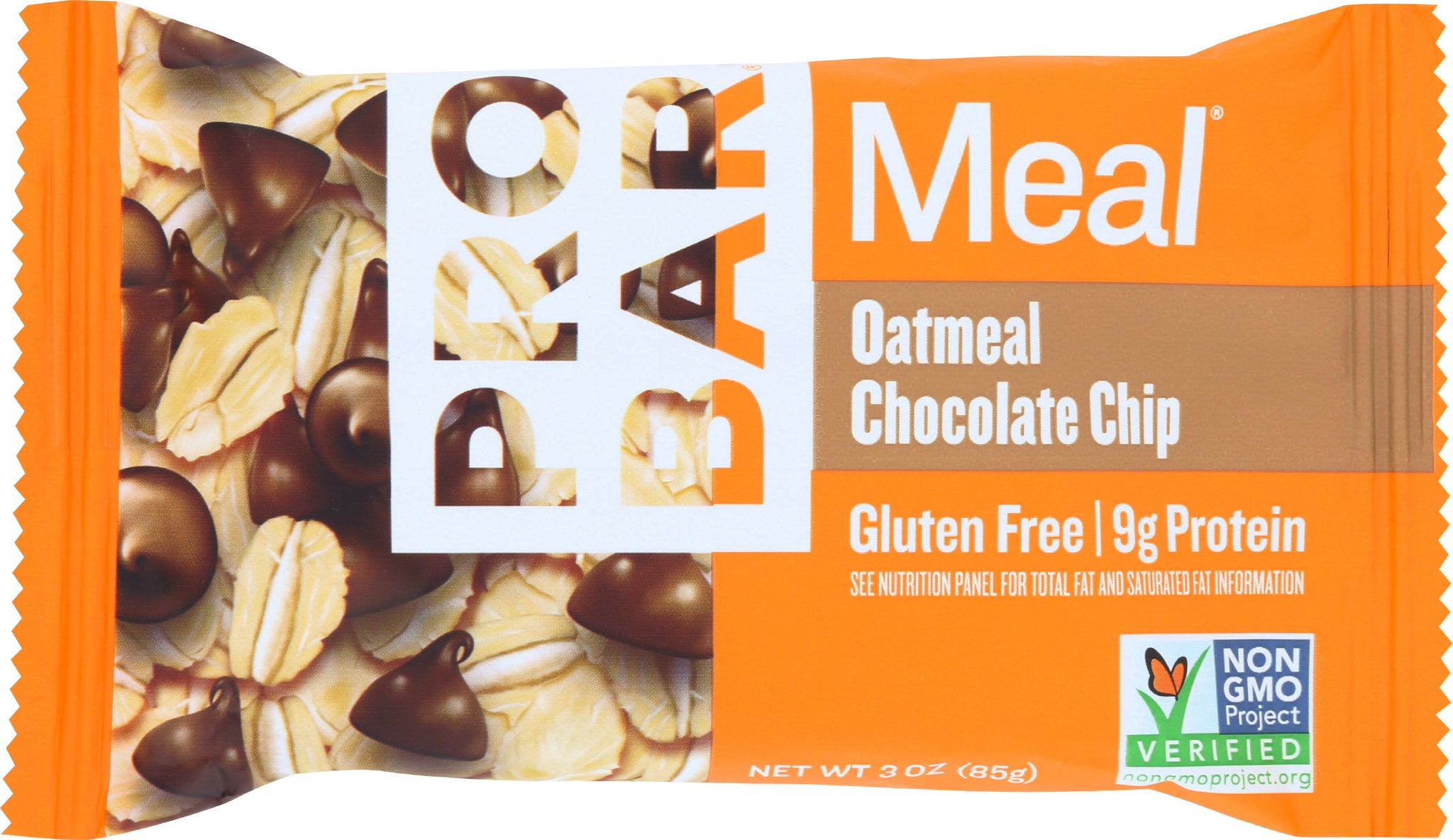 Probar Oatmeal Chocolate Chip Meal Replacement Bar, 3 OZ (Pack of 12)