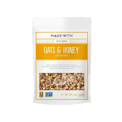 Made With Oats & Honey Granola, 12 Oz (Pack of 6)
