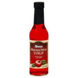 Reese Maraschino Syrup, 8 OZ (Pack of 12)