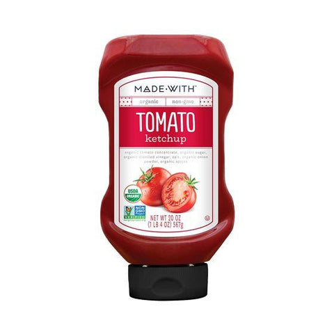 Made With Tomato Ketchup, 20 Oz (Pack of 12)