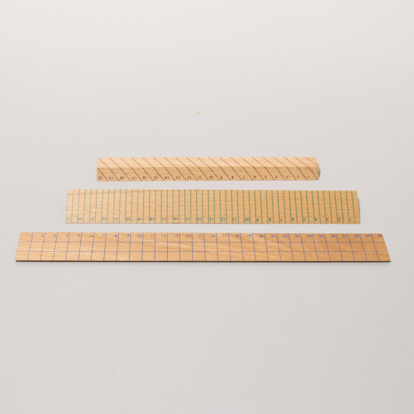 Wooden Ruler, thin Holzlineal