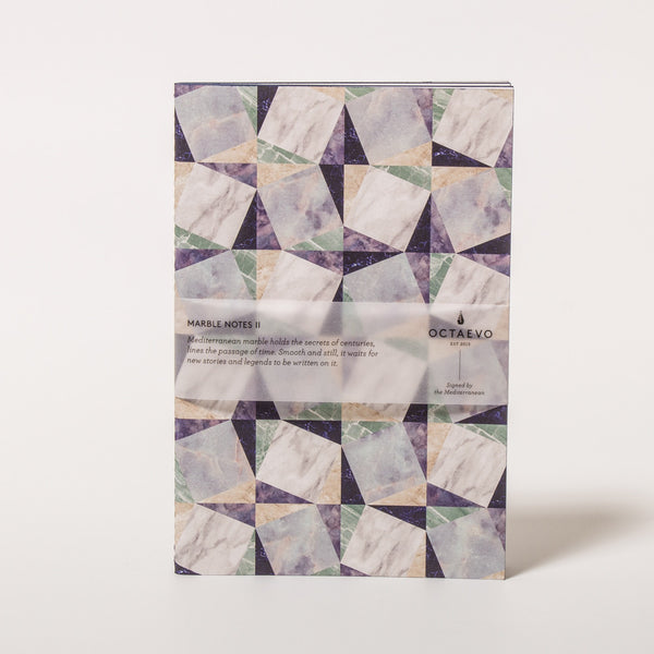 Marble Notes Blue Notizbuch