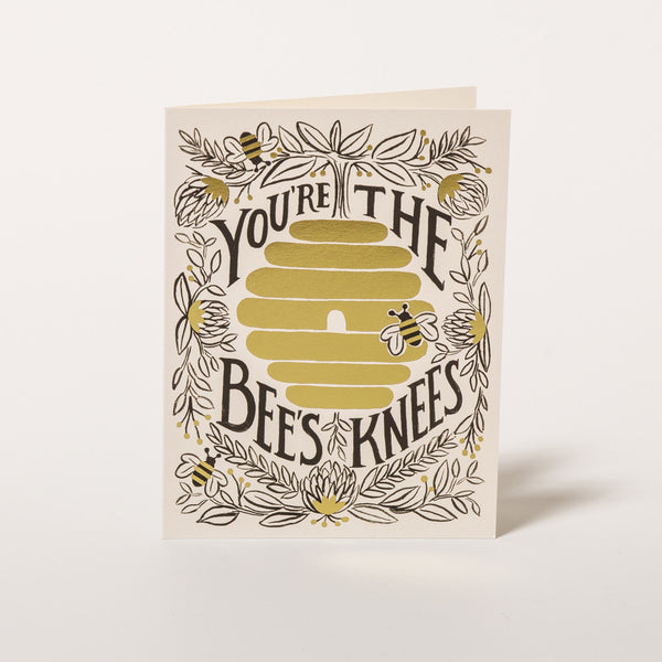 "Grußkarte ""You're the bees knees"" von Rifle Paper Co."