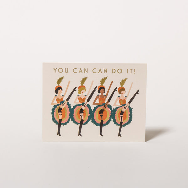"Grußkarte ""You can do it"" von Rifle Paper Co."