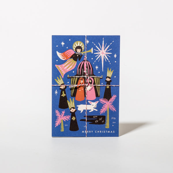 Postkarten-Set Nativity von Rifle Paper Co.