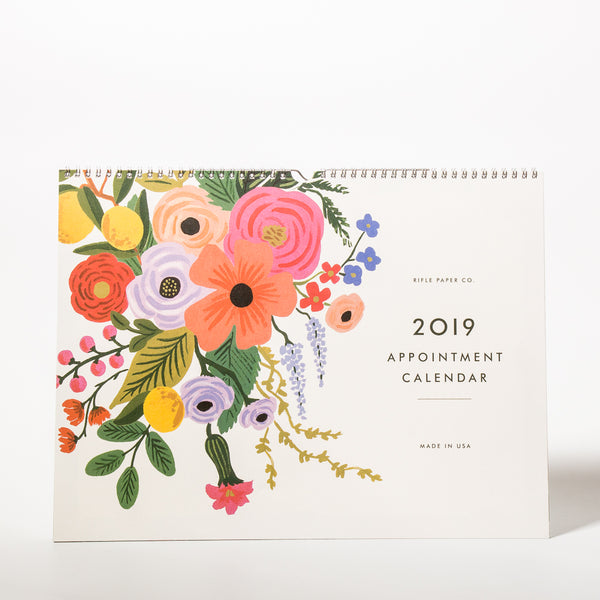 2019 Garden Party Appointment Kalender