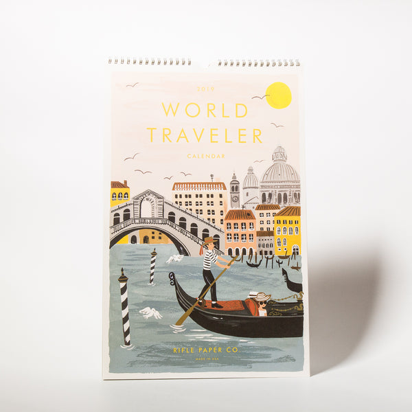 2019 World Traveler Kalender
