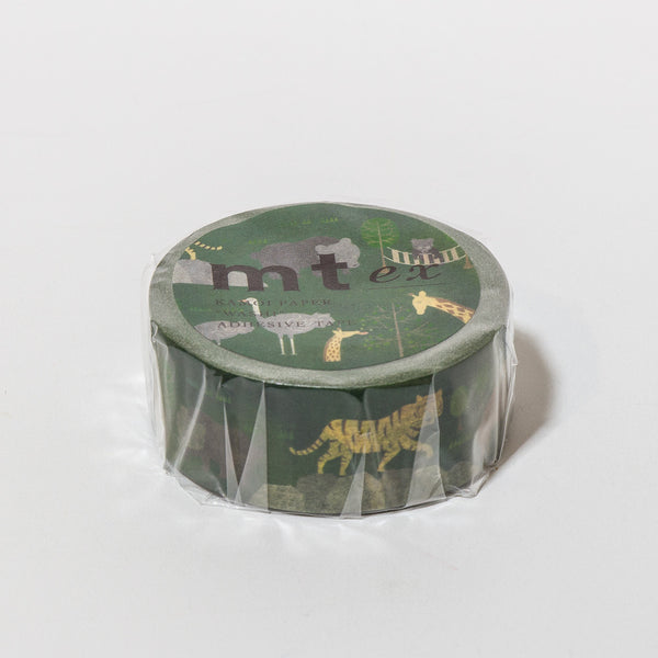 Masking Tape Safari Park mit wilden Tieren von mt Masking Tape.