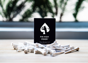 The card game you play while you play golf. Also known as poker golf. The perfect golf gift for the golfer in your life. Best golf gift for a boss or coworker. People who love poker, games, or competition will love this. Golf present ideas. Golf gift idea