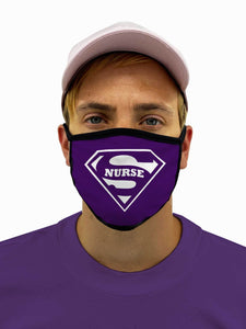 Super Nurse Face Mask With Filter Pocket