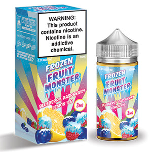 Fruit Monster 100ml (3mg) - Blueberry, Raspberry & Lemon Ice