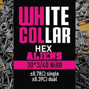 White Collar Coils HEX Aliens 30x3/40