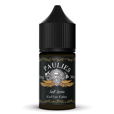 Paulies 30ml - Coffee Cake Nic Salts
