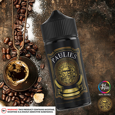 Paulies 60-120ml (3mg) - Cappucino