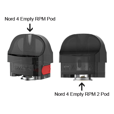 Smok Nord 4 Replacement Pod 1x3 (No Coil)