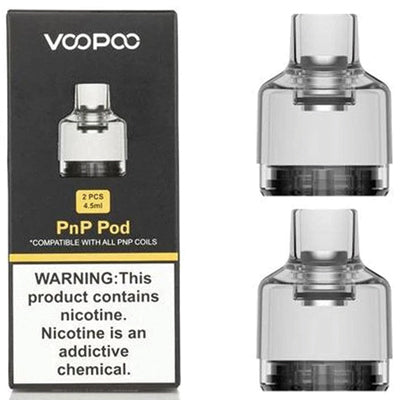 Voopoo PnP Pod Replacement 4.5ml 1x2 (No Coil)
