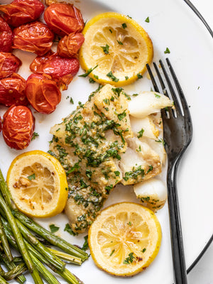 Load image into Gallery viewer, Garlic Butter Baked Cod