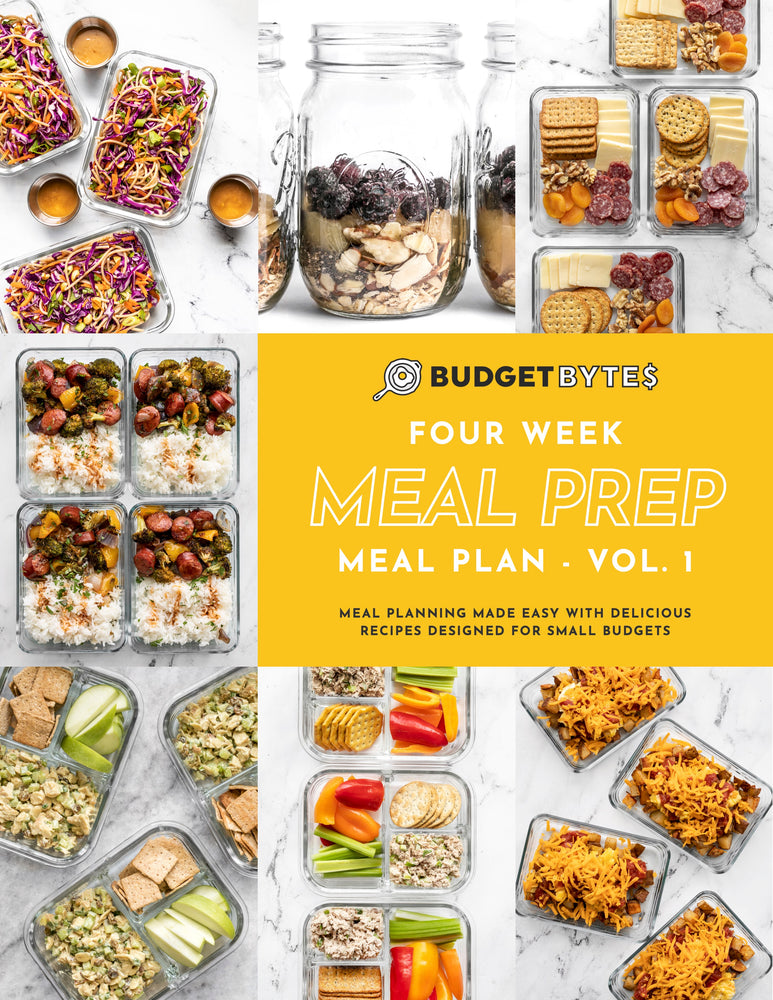 Meal Prep Monthly Meal Plan