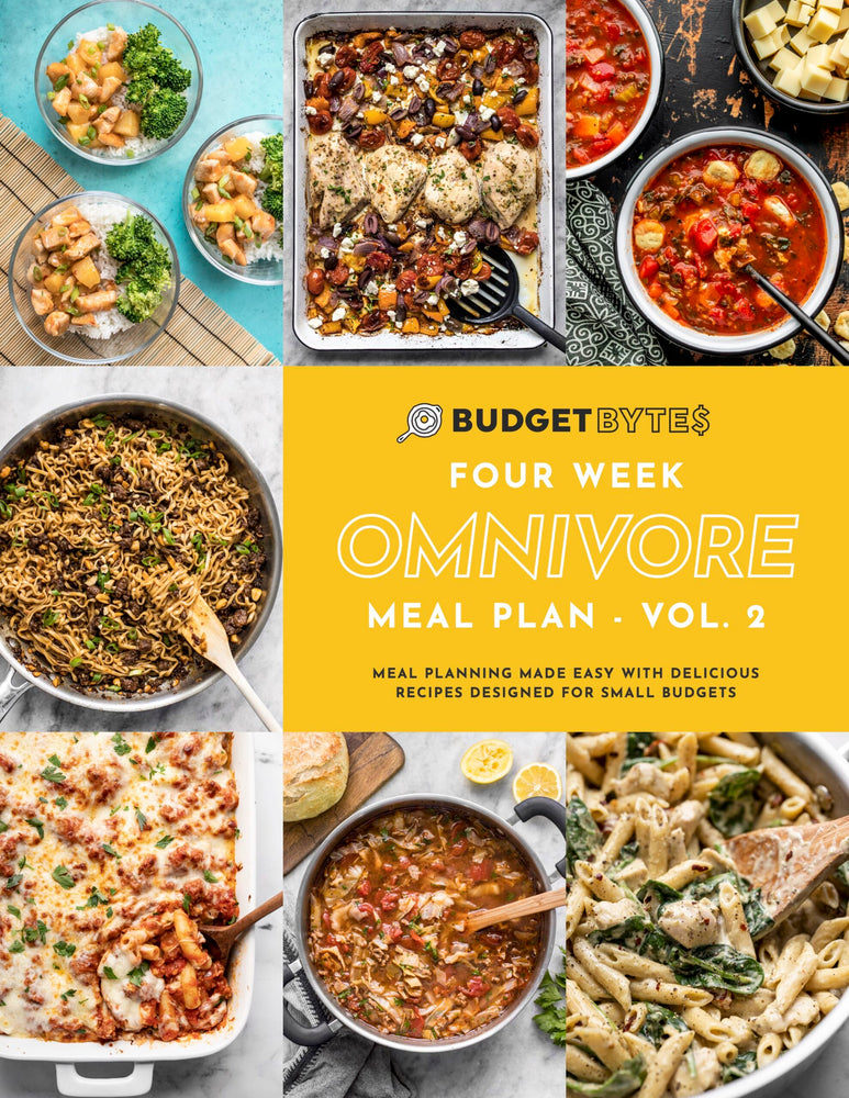 Omnivore Meal Plan Vol 2 Cover