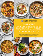 4 Week Omnivore Meal Plan Cover