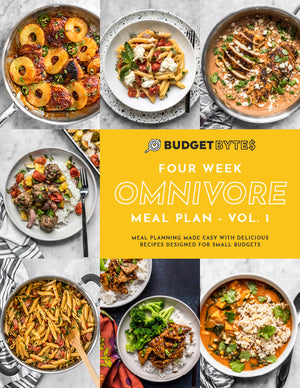 Load image into Gallery viewer, 4 Week Omnivore Meal Plan Cover