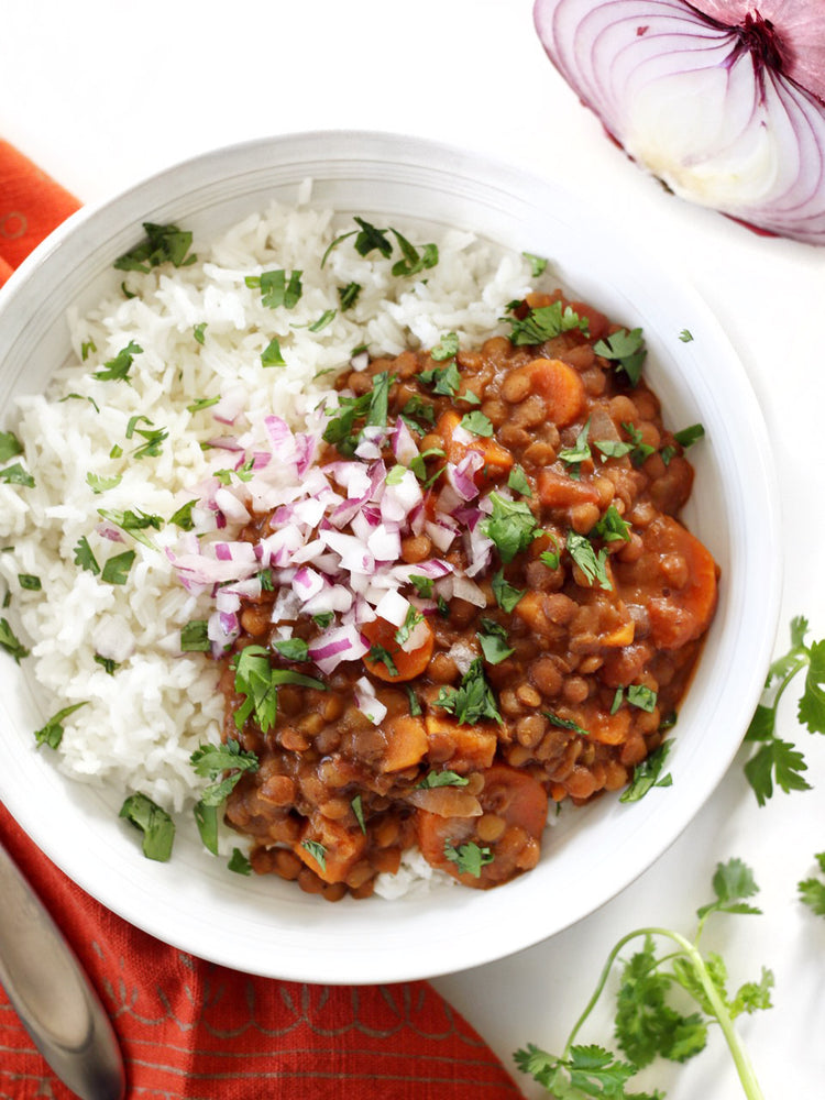 Load image into Gallery viewer, Slow Cooker Coconut Curry Lentils