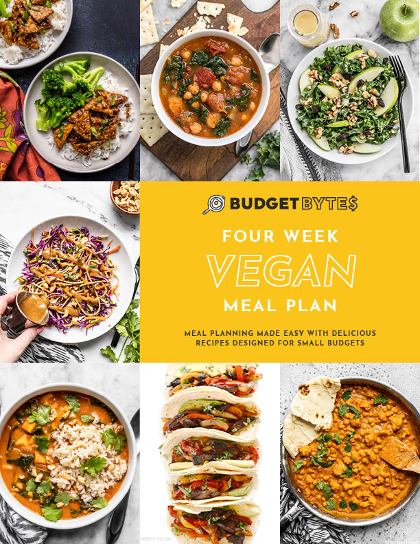 Vegan Meal Plan Cover Image