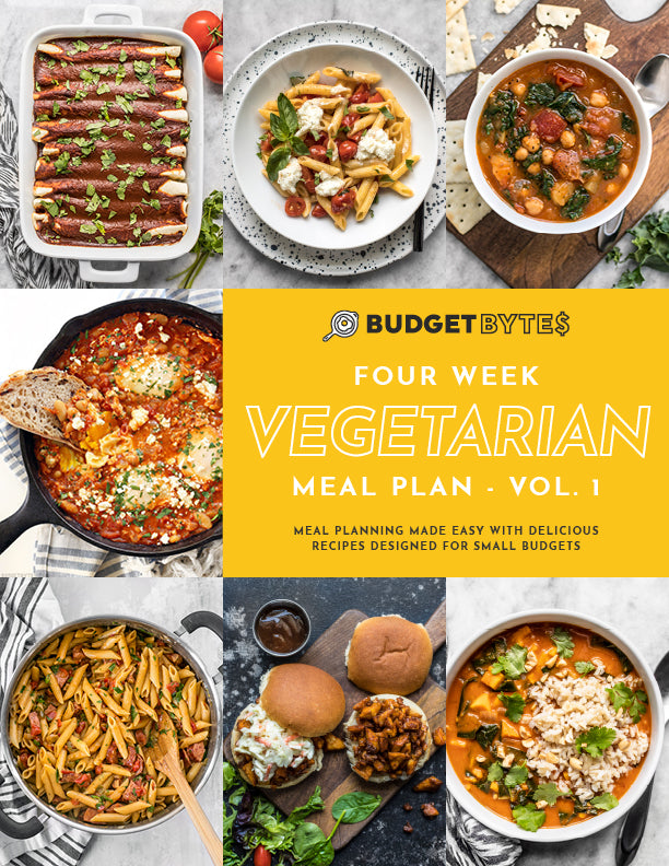 Vegetarian Meal Plan cover page image