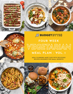 Load image into Gallery viewer, Vegetarian Meal Plan cover page image