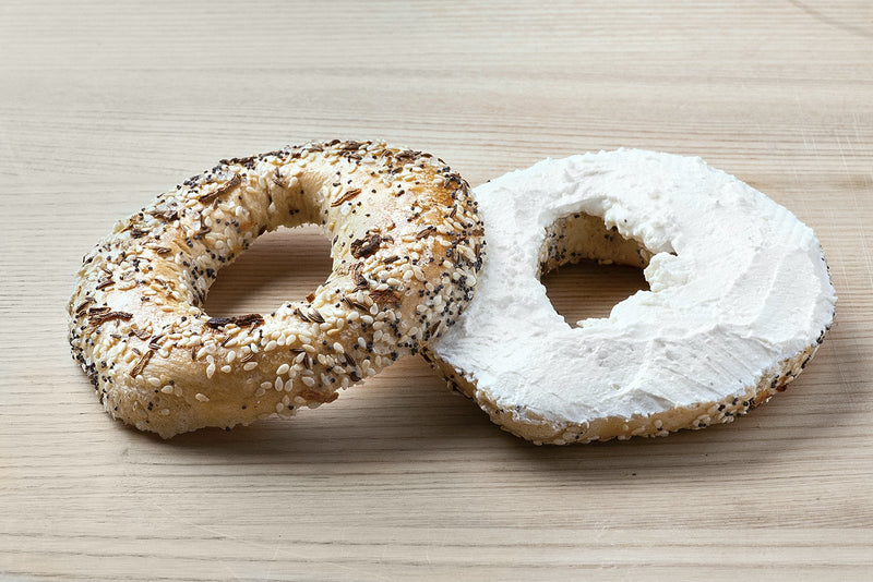 Gluten-Free Bagel with Plain Cream Cheese