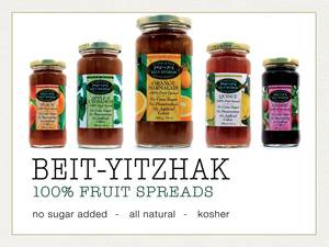Beit Yitzhak 100% Fruit Spreads - Strawberry