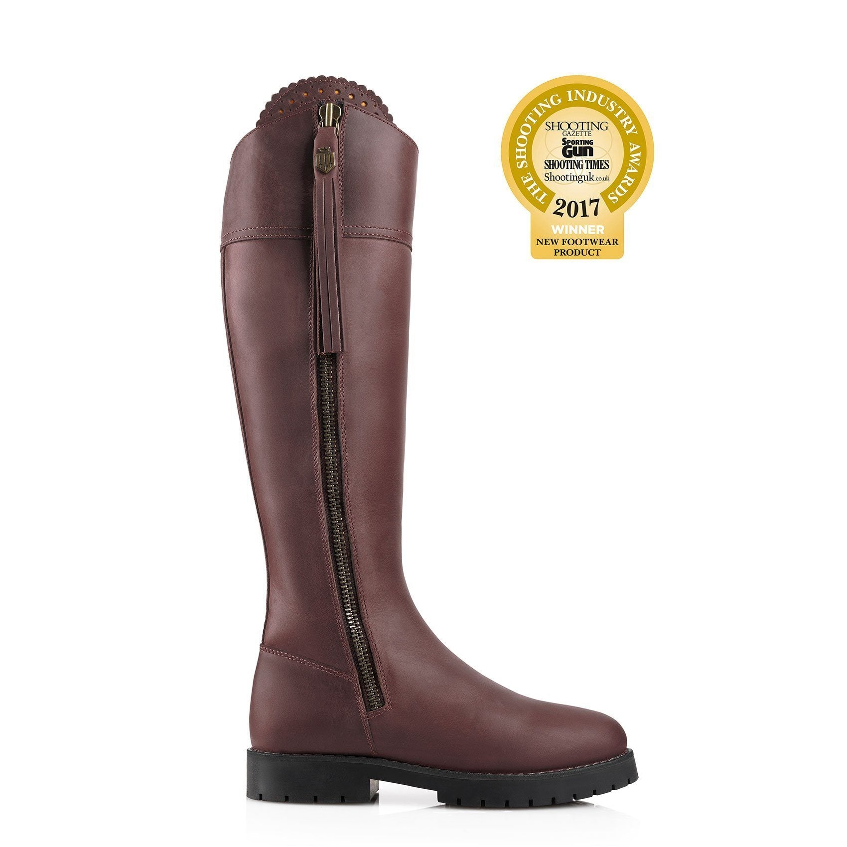 Imperial Explorer II Leather Boot, mahogany/mørk brun læder