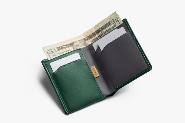 Bellroy Note Sleeve Wallet RFID, racing green
