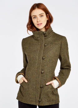 Bracken Tweed Utility Jacket, Heath
