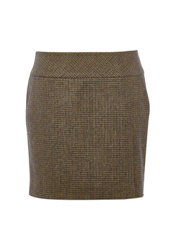 Bellflower tweed skirt, Heath