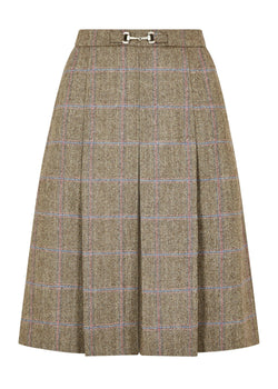 Spruce Knee-length tweed skirt, Woodrose