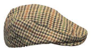 Tweed Country sixpence hat, lyse tern
