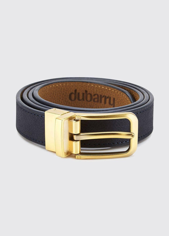 Foynes Reversible Ladies Belt bælte, læder, navy/tan
