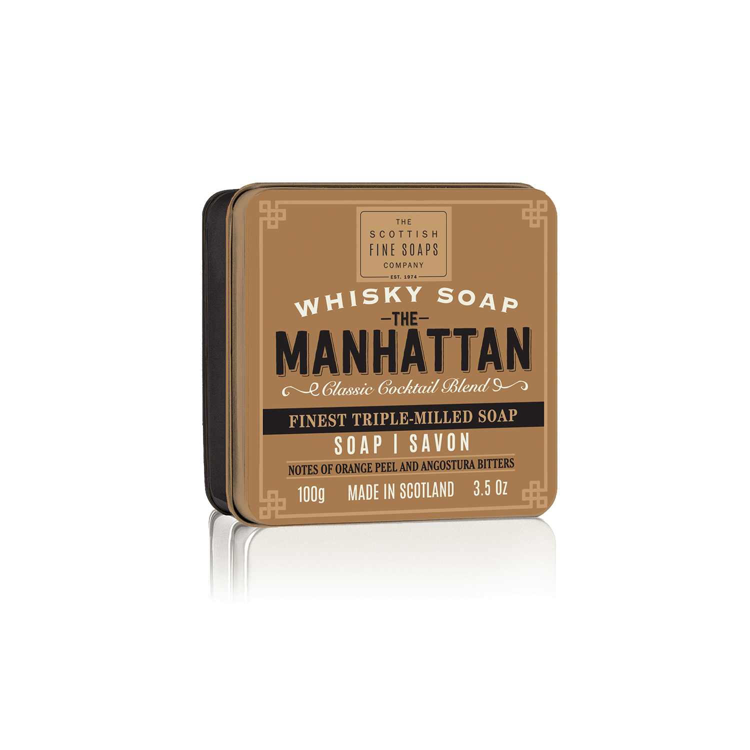 Whisky sæbe The Manhattan - i tindåse