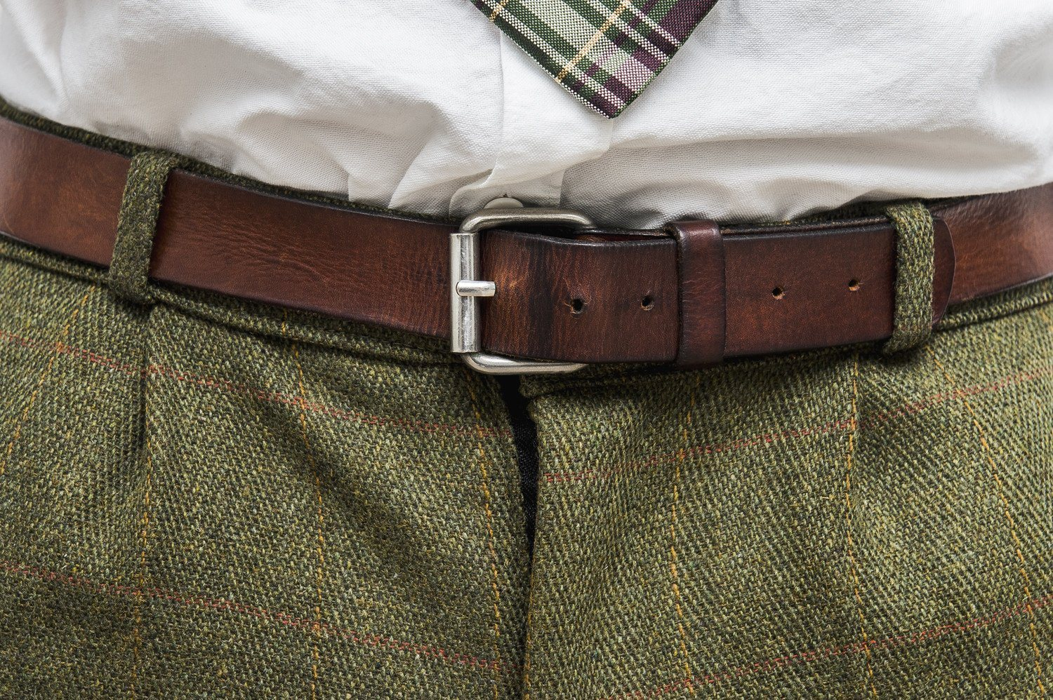 Tweed Country Breeks knickers, mørk grøn