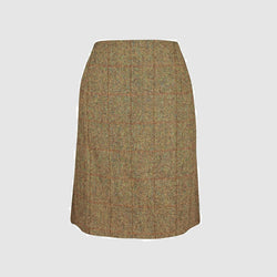 Effie Skirt nederdel Harris Tweed, mustard herringbone