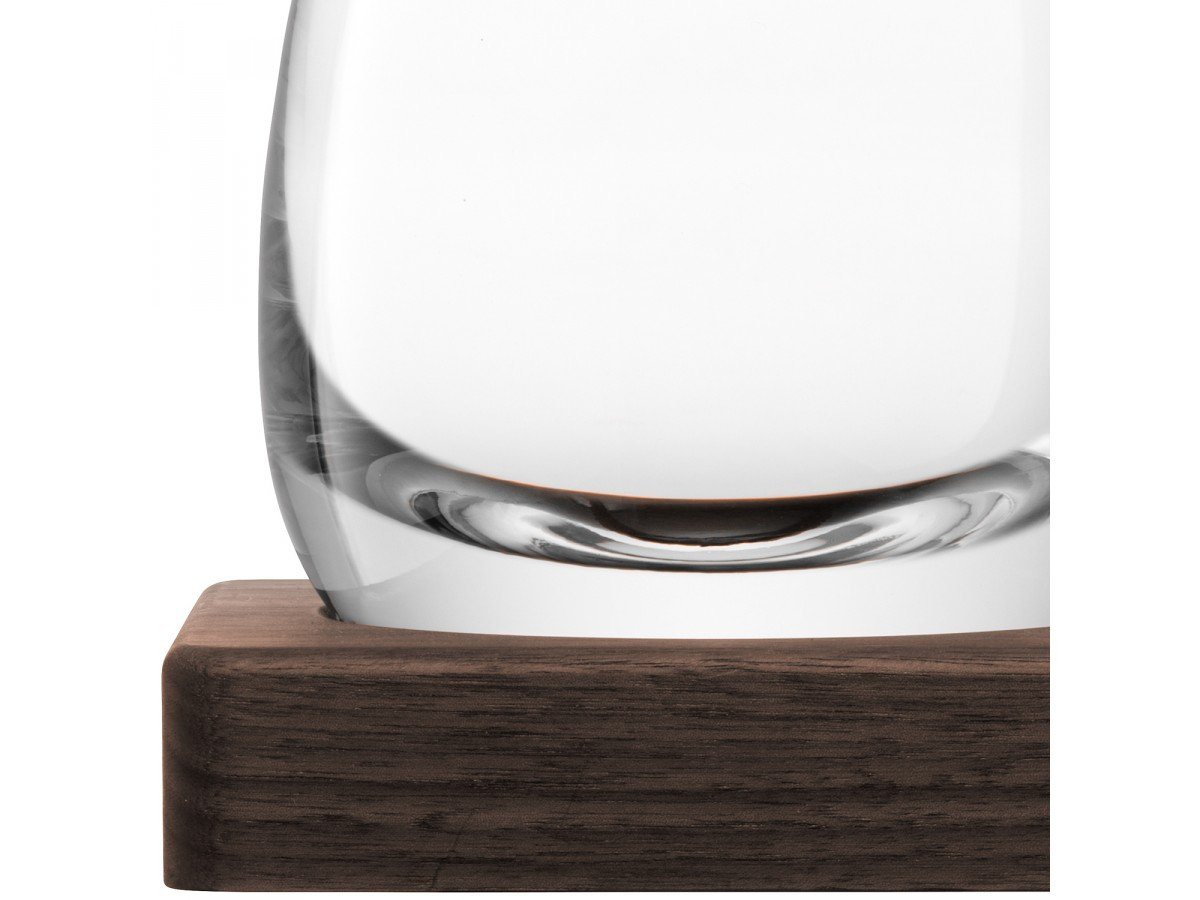 Whisky Islay Decanter 1L med bordskåner i valnød