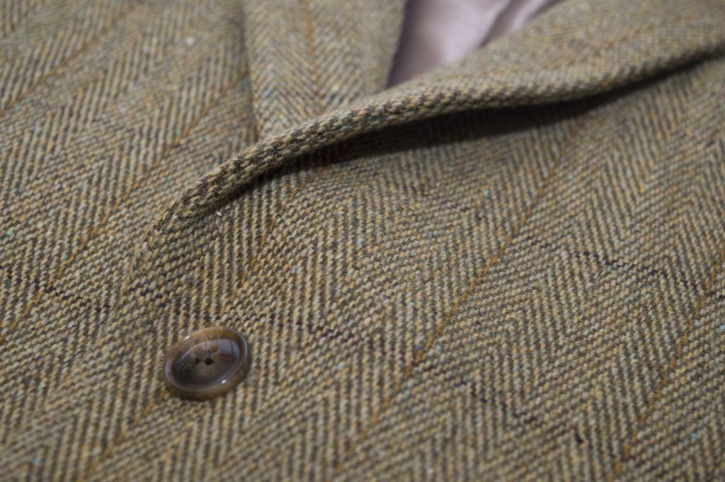 Windsor blazer, tweed, lys salvie