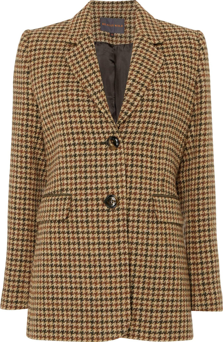 Langford Jacket, Acorn, brun/sort