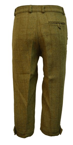 Tweed Country Breeks knickers, lys salvie