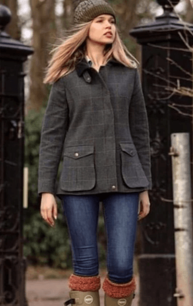 Image of   Sherborne ladies tweed jakke