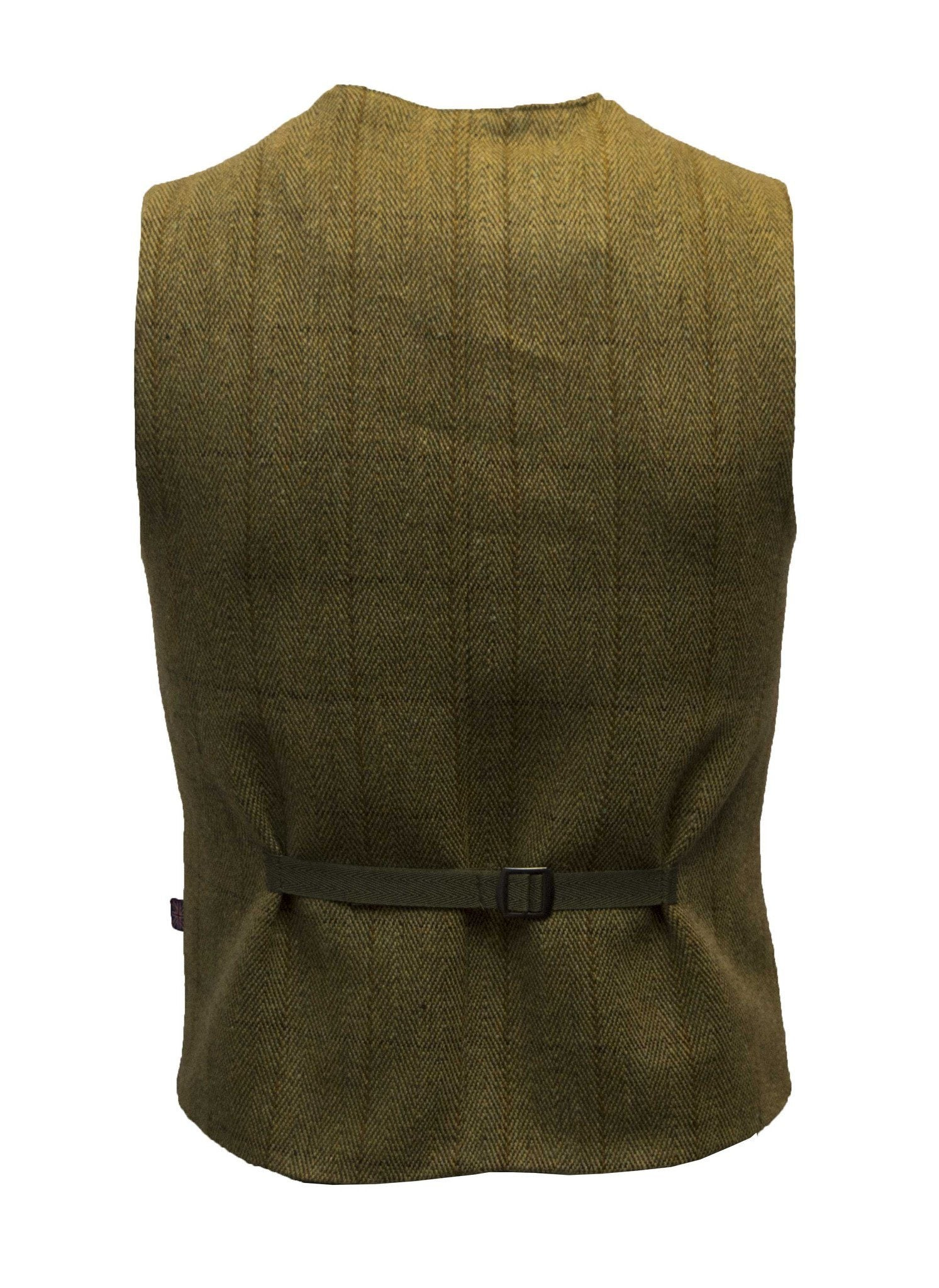 Tweed Formal Waistcoat, vest, lys salvie